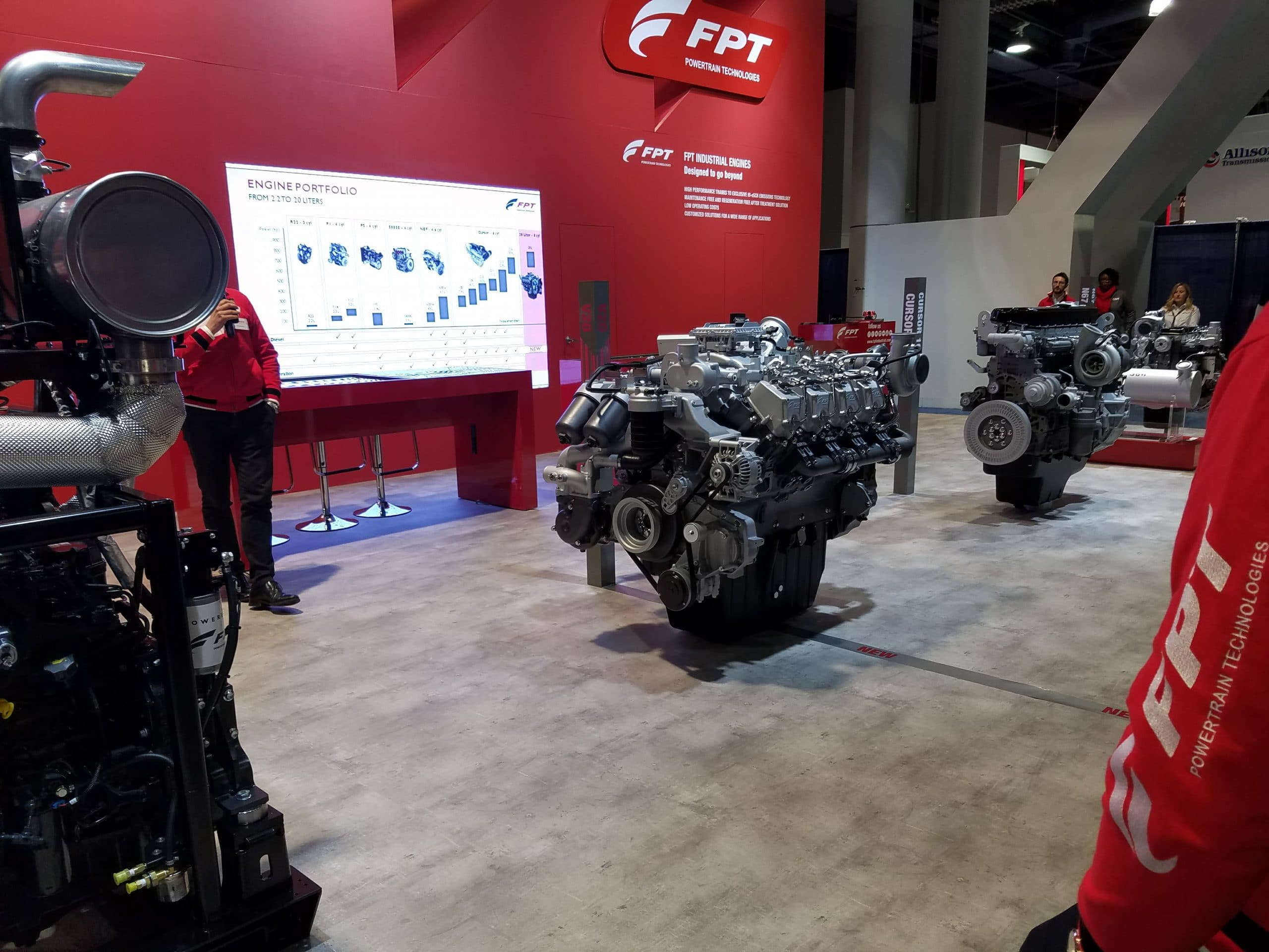 New FPT V20 Engine Launch at ConExpo 2017