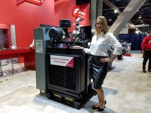 Northern Power Products Grizzly Industrial Power Unit at ConExpo 2017