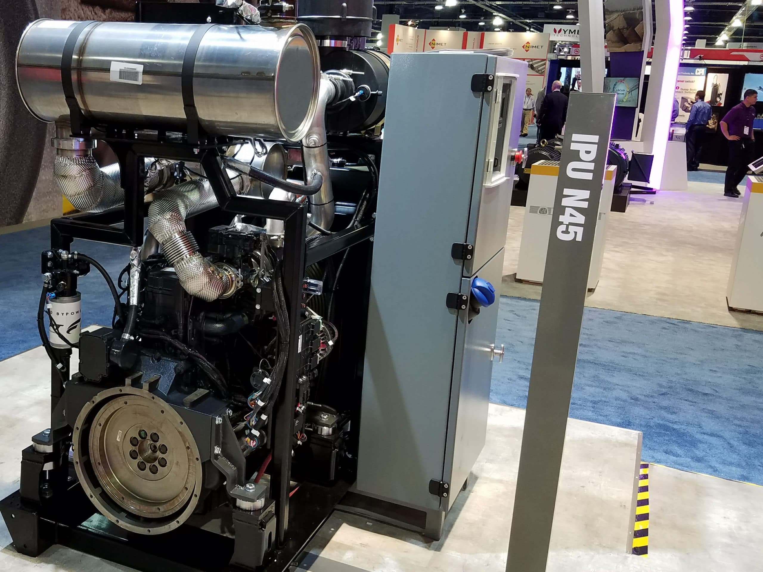 Grizzly Industrial Power Unit powered by the FPT N45