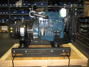V1505BG Kubota powered 11KW generator