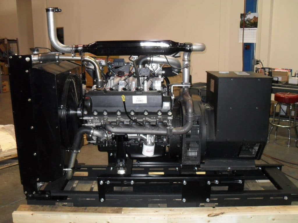 Ford powered generator