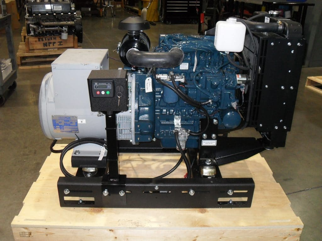 Kubota powered generator