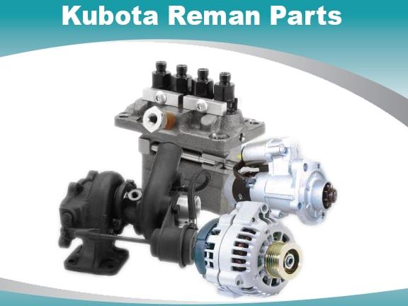 kubota reman parts