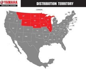 Yamaha Distribution Territory